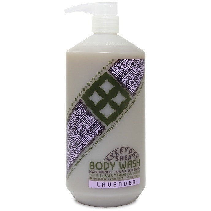 Alaffia Everyday Shea Lavender Body Wash 32 Ounce