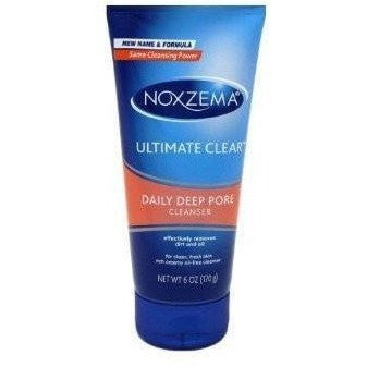 Noxzema Ultimate Clear Daily Deep Pore Cleanser 6 Ounce