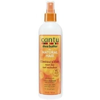 Cantu Shea Butter For Natural Hair Comeback Curl Next Day Curl Revitalizer 12 fl oz