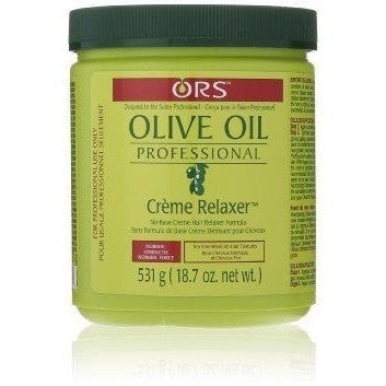 ORS Olive Oil Professional No-Base Creme Relaxer Normal 18.7 Ounce