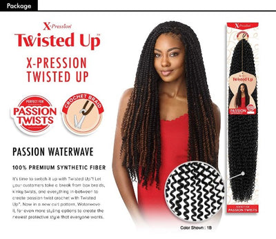 Outre X-pression Twisted Up Passion Waterwave II 22'' - Locobeauty