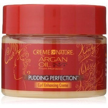Creme Of Nature Argan Oil Pudding Perfection 11.5 Ounce