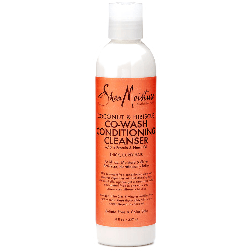 Shea Moisture Coconut & Hibiscus Co-Wash Conditioning Cleanser 8 Ounce