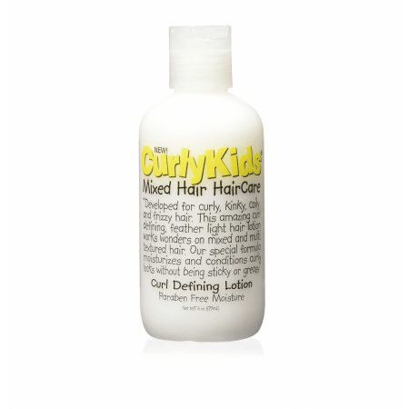 Curly Kids Mixed Hair Haircare Curl Defining Lotion 6 Ounce