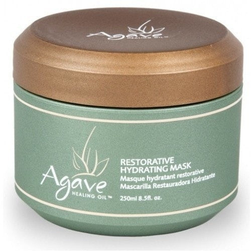 Agave Healing Oil Restorative Hydrating Mask 8.5 oz - LocoBeauty