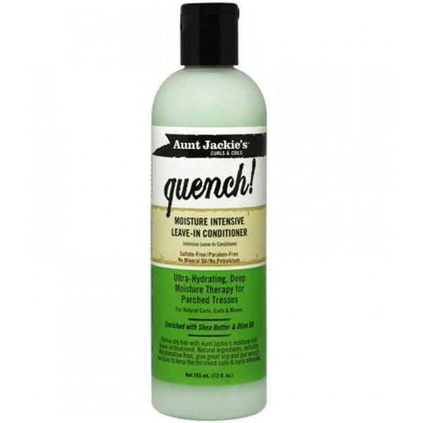 Aunt Jackie's Quench Moisture Intensive Leave-In Conditioner 12 Ounce