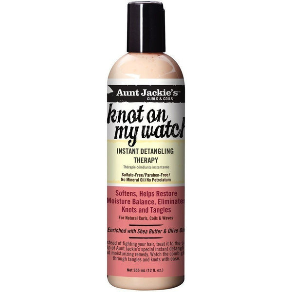 Aunt Jackie's knot on my watch Instant Detangling Therapy 12 Ounce