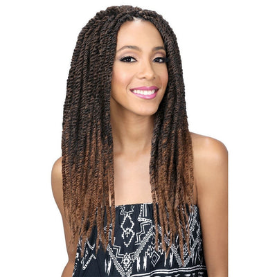 "Bobbi Boss African Roots Braid Collection Jamaica Rasta Braid Up to 40"" - LocoBeauty"