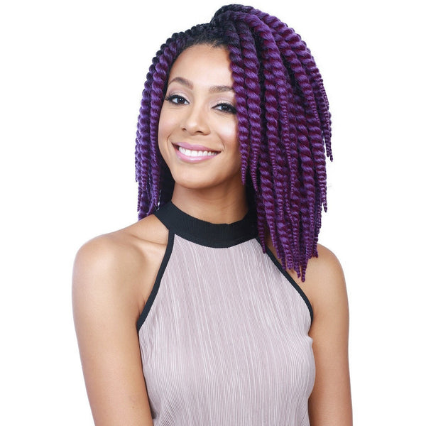 "Bobbi Boss Senegal Bomba Skinny Twist 3 PC 8"" + 10"" + 12"""