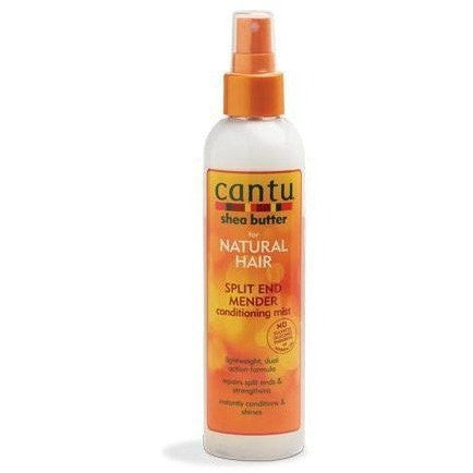 Cantu Shea Butter For Natural Hair Split End Mender Strengthening Mist 8 fl oz