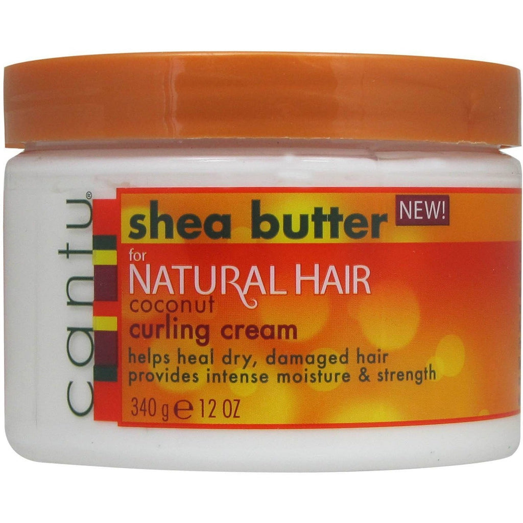 Cantu Shea Butter for Natural Hair Coconut Curling Cream 12 Ounce