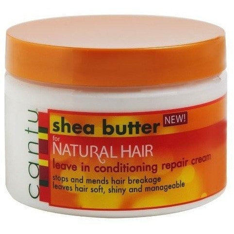 Cantu Shea Butter For Natural Hair Leave-In Conditioning Cream 12 Ounce