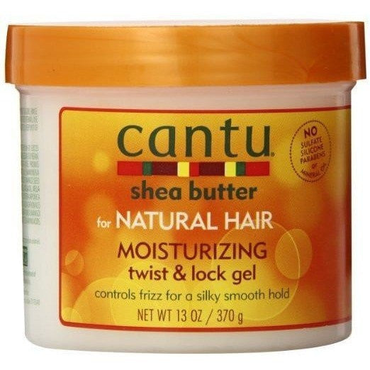 Cantu Shea Butter For Natural Hair Moisturizing Twist & Lock Gel 13 Ounce