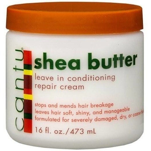 Cantu Shea Butter Leave-In Conditioning Repair Cream 16 Ounce
