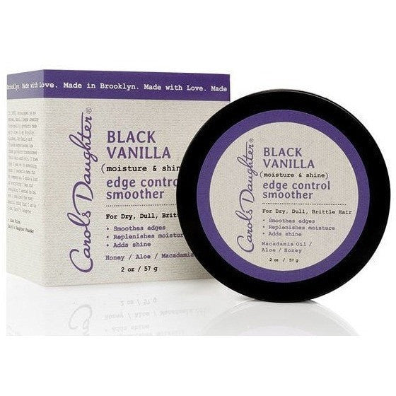 Carol's Daugther Black Vanilla Moisture & Shine Edge Control Smoother 2 Ounce
