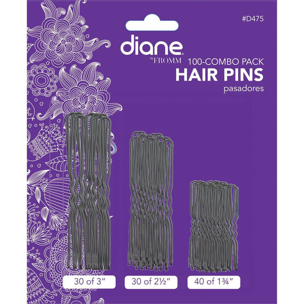 Diane 100-Combo Pack Hair Pins D475