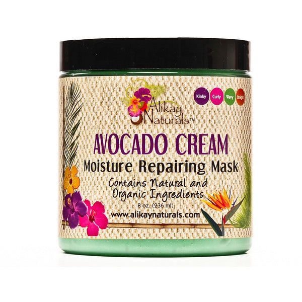 Alikay Naturals Avocado Cream Moisture Repairing Mask 8 Ounce