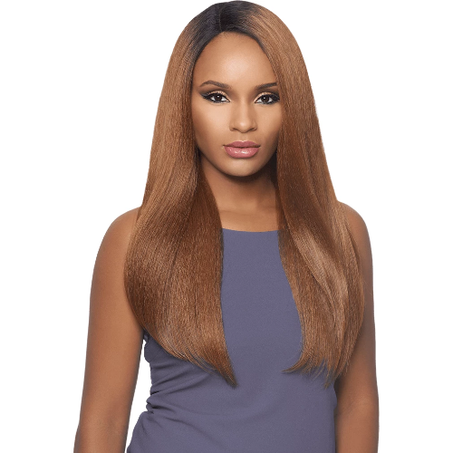 Outre Lace Front Wig Batik Dominican Blow Out Straight Bundle