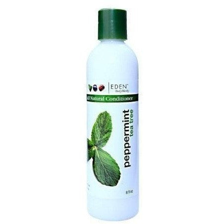 Eden BodyWorks Peppermint Tea Tree All Natural Conditioner 8 Ounce