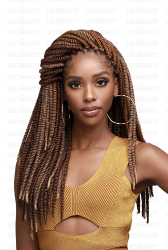 Bomba Nubian Soft & Bouncy Twist