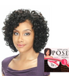 Model Model Pose Pre-Cut Human Hair Blend Weave RED OPRAH CROWN 3 PCS - Locobeauty