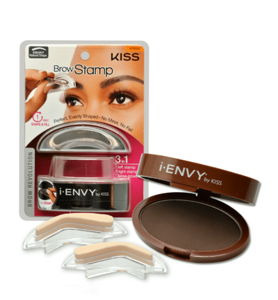 Kiss i.Envy Brow Stamp Dark Brown KPBS01 - LocoBeauty