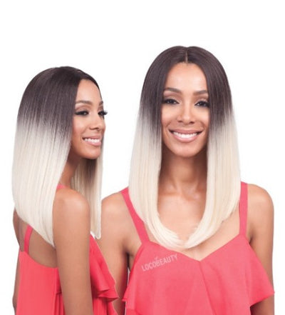 Bobbi Boss Lyna Long MLF185 Synthetic Lace Front Wig - Locobeauty