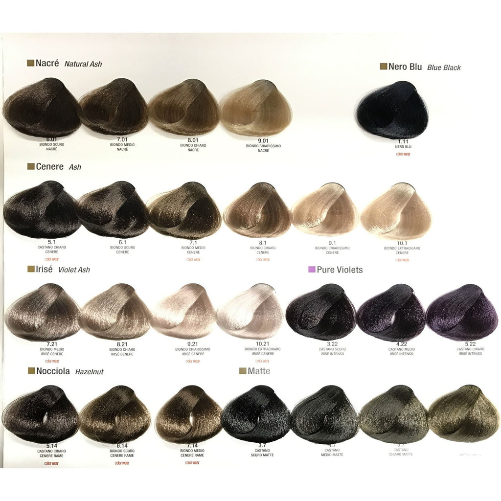 Alfaparf Evolution of Color Permanent Hair Color