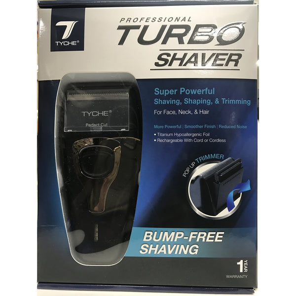 TYCHE Professional Turbo Shaver Bump-Free Shaving