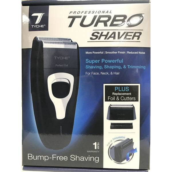 TYCHE Professional Turbo Shaver Bump-Free Shaving Perfect Cut