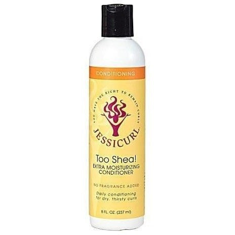 JESSICURL Conditioning Too Shea Extra Moisturizing Conditioner 8 Ounce
