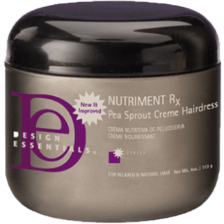 Design Essentials Nutriment Rx Pea Sprout Creme Hairdress 4 Ounce