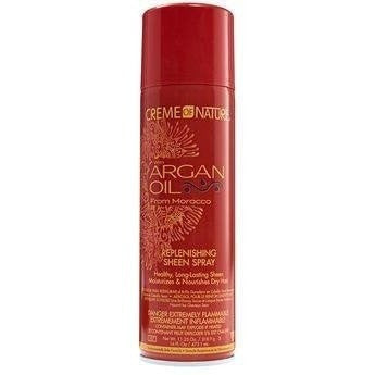 Creme Of Nature Argan Oil Replenishing Sheen Spray 16 Ounce