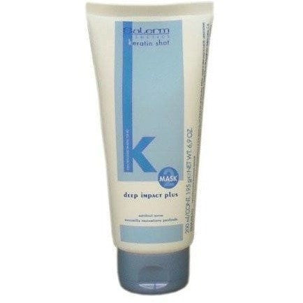 Salerm Keratin Shot Deep Impact Plus Mask 6.9 Ounce