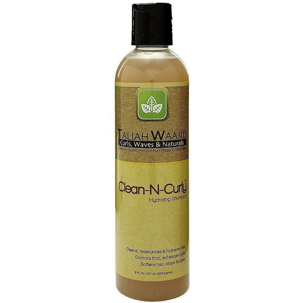 Taliah Waajid Curls, Waves and Naturals Clean-N-Curly Hydrating Shampoo 8 Ounce
