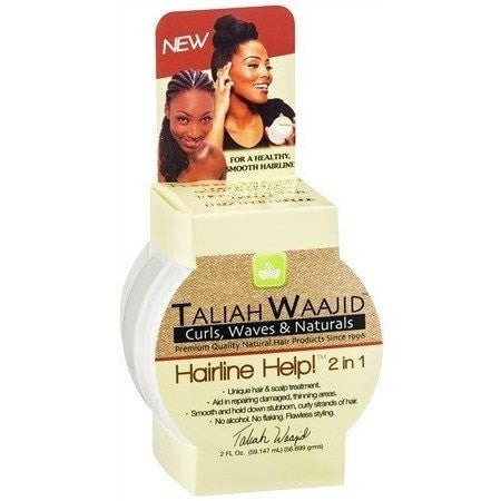 Taliah Waajid Curls, Waves and Naturals Hairline Help 2 In 1 2 Ounce