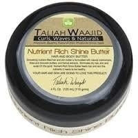 Taliah Waajid Curls, Waves and Naturals Nutrient Rich Shine Butter, 4 Ounce