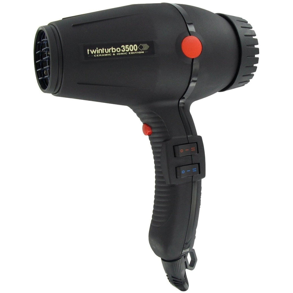 Turbo Power Twin Turbo 3500 Ceramic and Ionic Hair Dryer