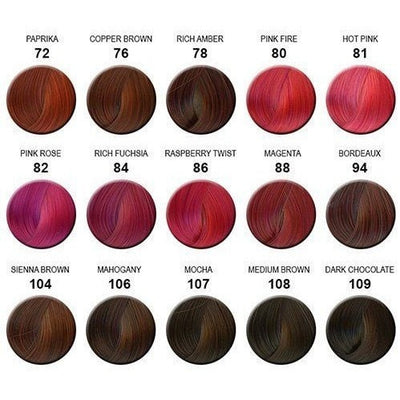 Demi Hair Color Chart Solidique27