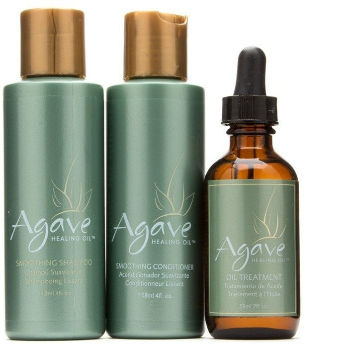 Agave Healing Oil Smoothing Trio