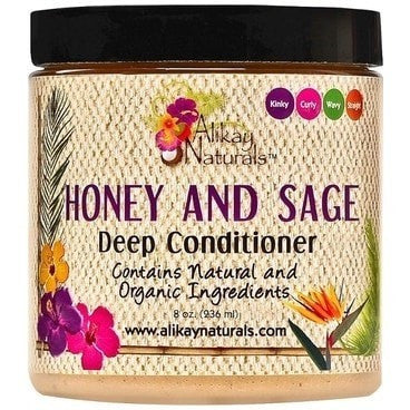 Alikay Naturals Honey and Sage Deep Conditioner 8 Ounce