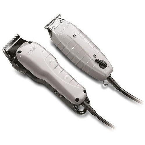 Andis Barber Combo Powerful Clipper and Trimmer Combo Kit