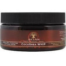 As I Am Cocoshea Whip Ultra Light Hydrating & Styling Cream 8 Ounce