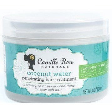 Camille Rose Naturals Coconut Water Penetrating Hair Treatment, 8.0 Ounce