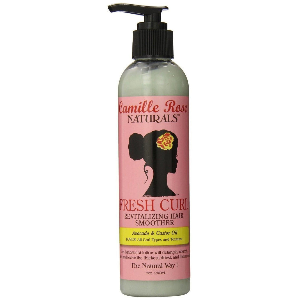 Camille Rose Naturals Fresh Curl Revitalizing Hair Smoother, 8 Ounce