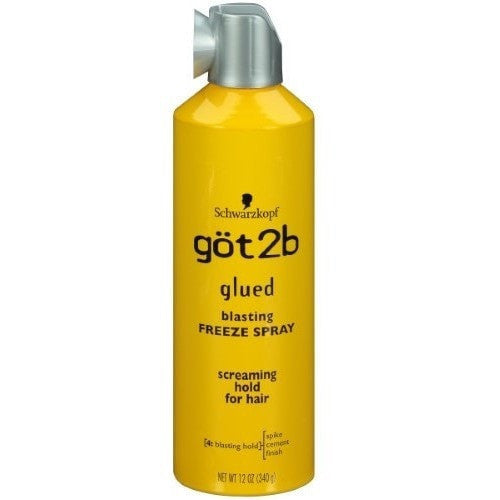 got2b Glued Blasting Freeze Spray Spike Cement Finish 2 Ounce