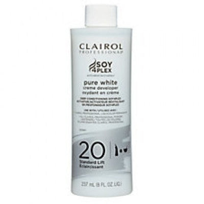 Clairol Pure White Creme Developer 16 oz various volume - LocoBeauty
