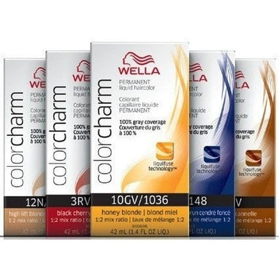 Wella Color Charm Permanent Liquid Hair Color - LocoBeauty
