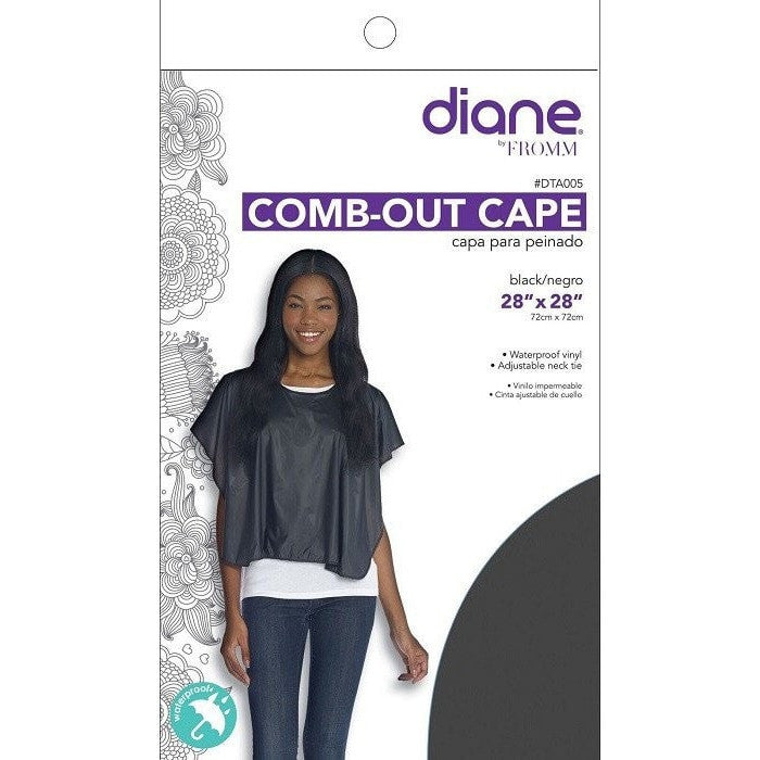 Diane Comb-Out Cape 32'' x 26'' DTA005