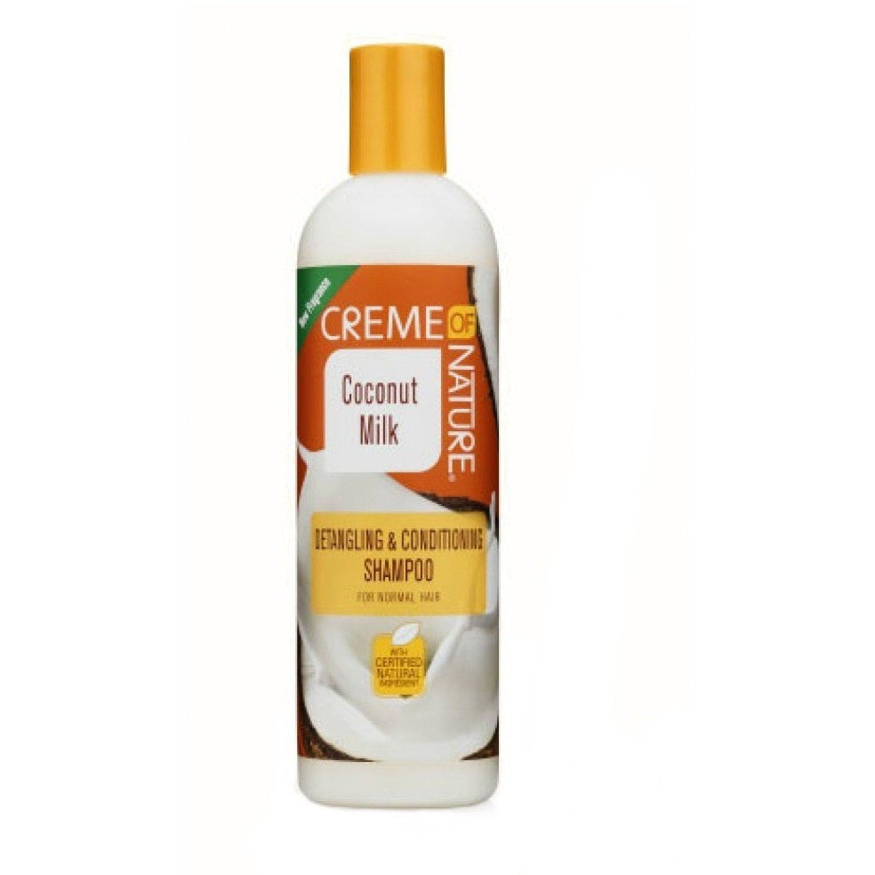 Creme Of Nature Coconut Milk Detangling & Conditioning Shampoo 12 Ounce